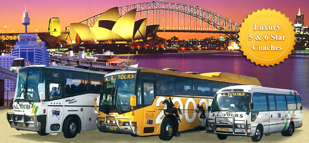 AL Tours - Bus charter services around Australia